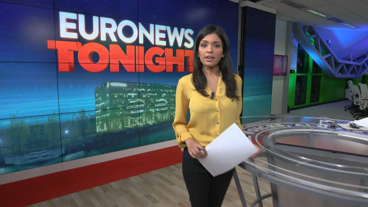 Sur Euronews dès 19h00 : Euronews Tonight