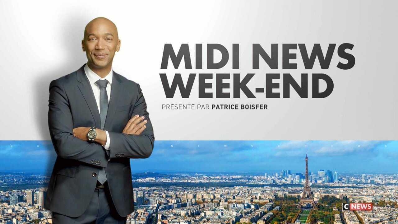 Sur CNEWS dès 11h58 : Midi News week-end