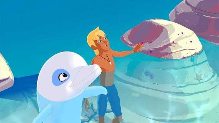 Sur TIJI dès 08h50 : Oum le dauphin blanc