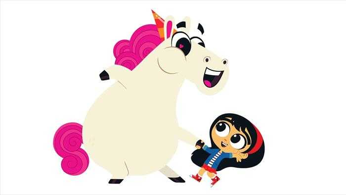Sur Disney Channel Plus 1 dès 13h25 : Va-t'en, licorne !