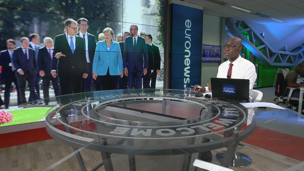 Sur Euronews dès 12h00 : Euronews Now