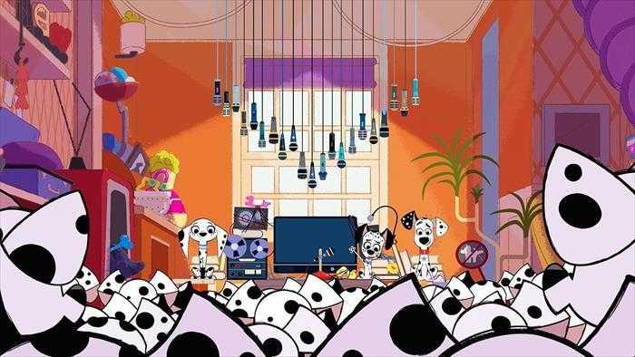 Sur Disney Channel dès 22h35 : 101, rue des Dalmatiens