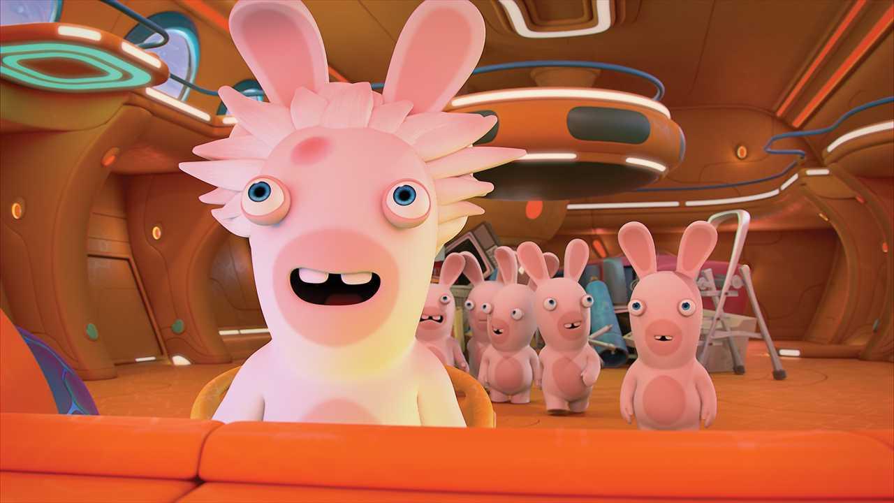 Sur France 3 dès 07h10 : Les lapins crétins : invasion