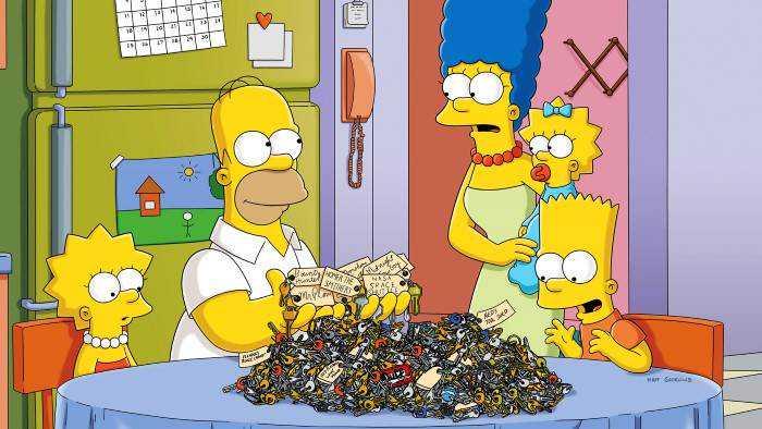 Sur serieclub dès 20h05 : Les Simpson