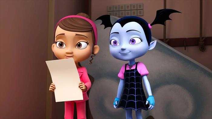 Sur Disney Channel Junior dès 20h30 : Vampirina