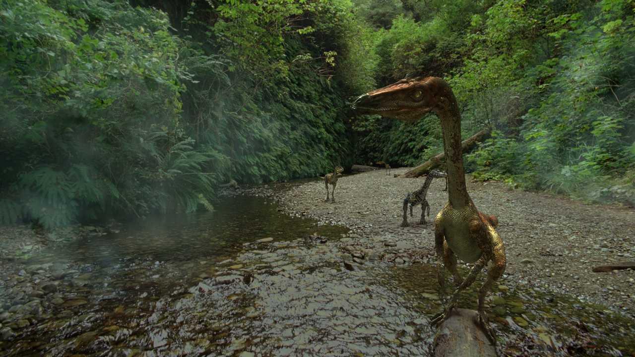 Des dinosaures bien vivants