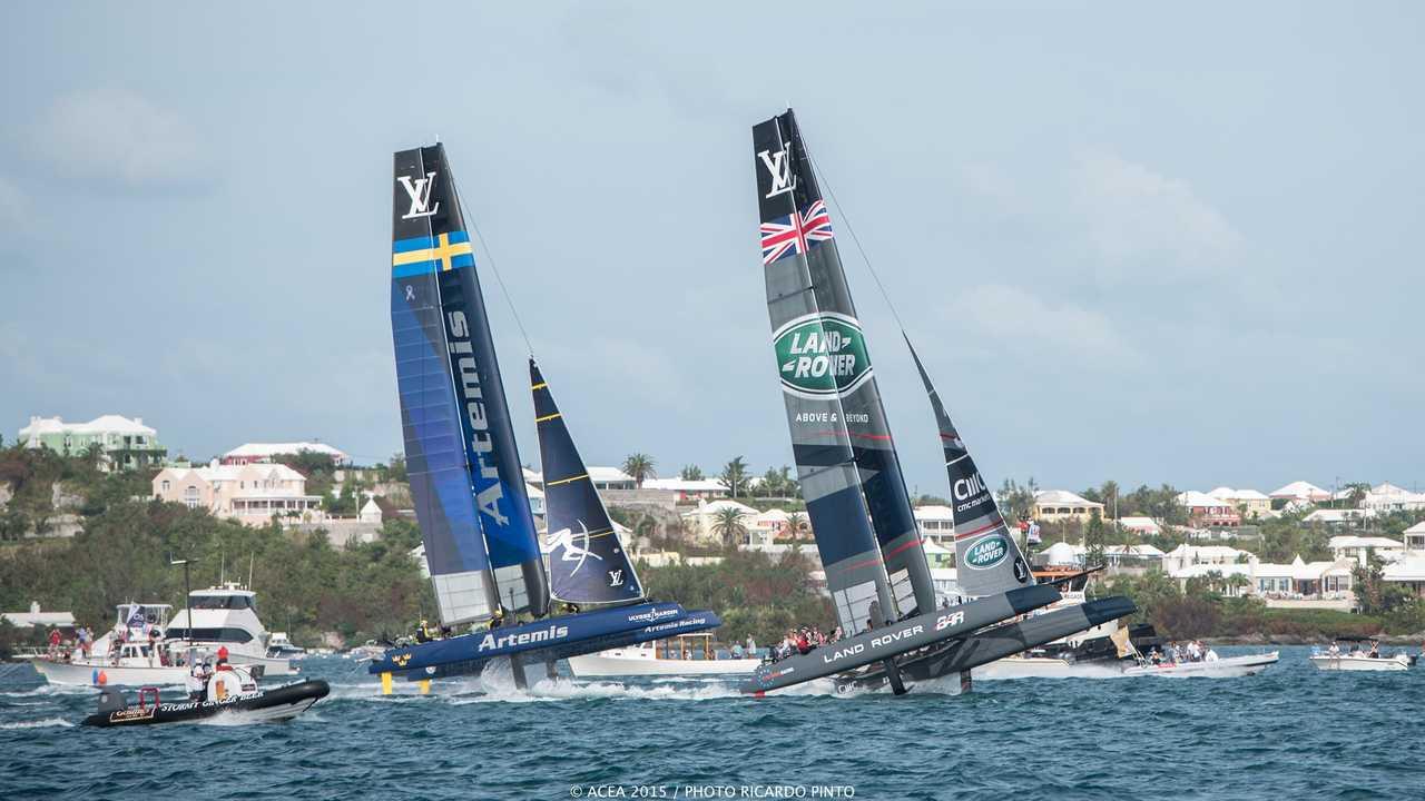 Sur Canal Plus dès 06h19 : Voile : Sail GP (Grande-Bretagne)