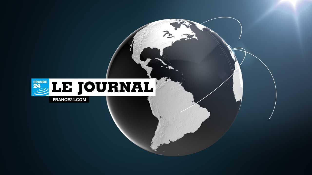 Sur France 24 dès 06h00 : Le journal