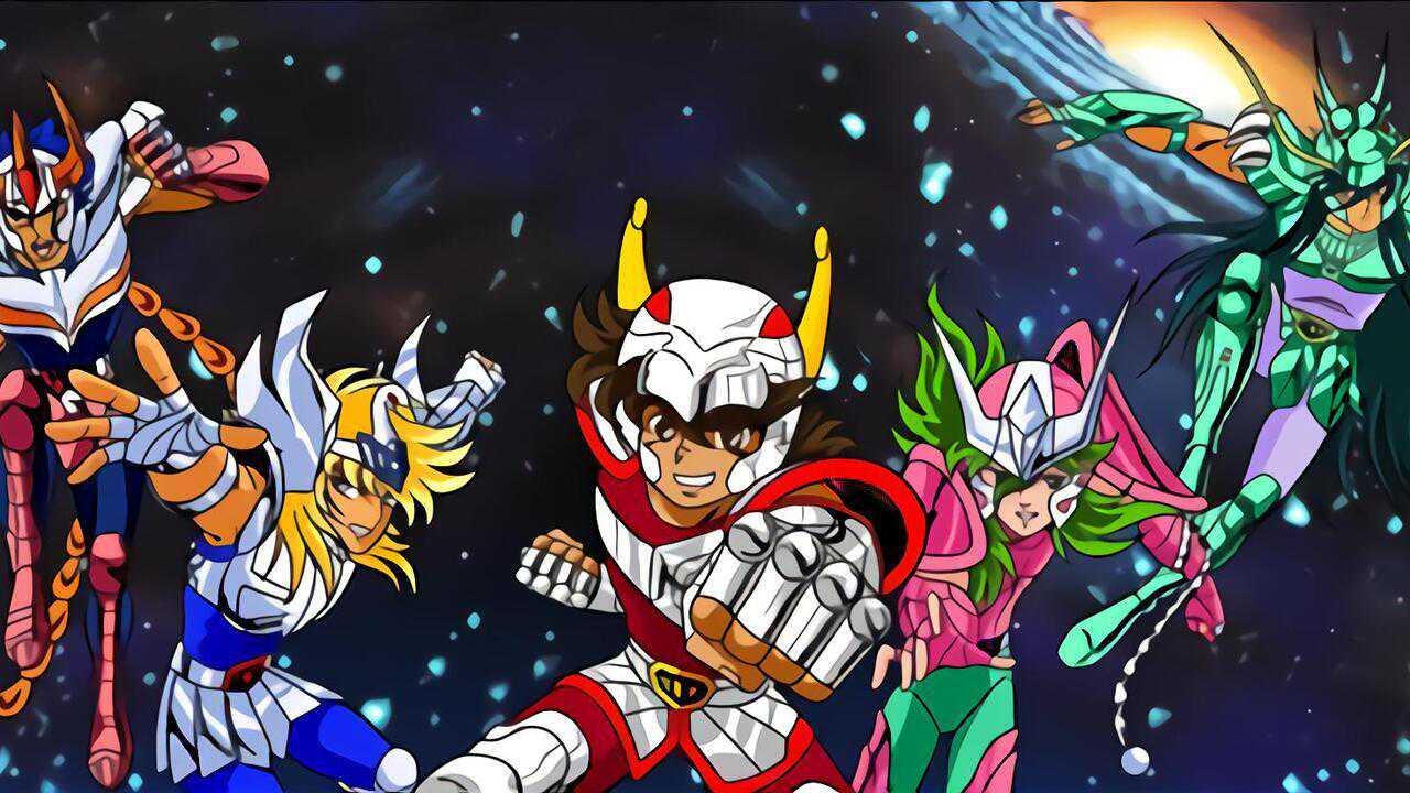 Sur Mangas dès 18h30 : Les chevaliers du zodiaque