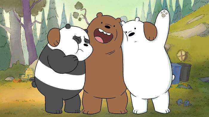Sur Cartoon Network dès 06h00 : We Bare Bears