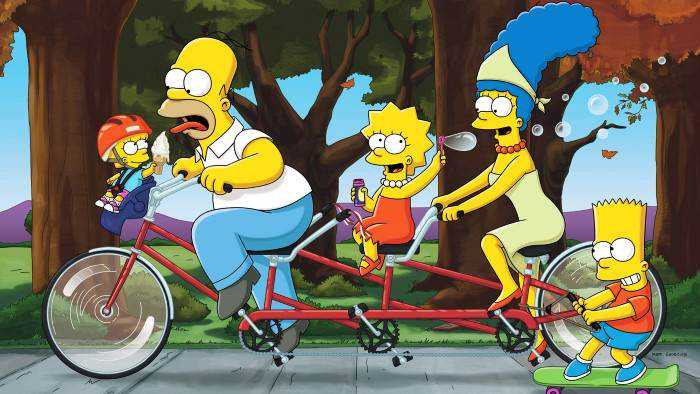 Sur serieclub dès 17h30 : Les Simpson
