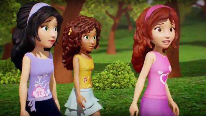 Sur Disney Channel dès 12h55 : LEGO Friends : Amies pour la vie
