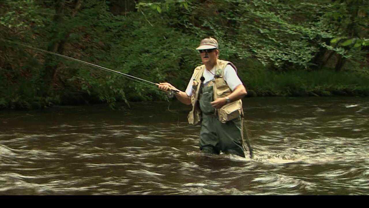 Sur Chasse et Peche dès 14h08 : Pêche à la mouche sur la rivière Cure