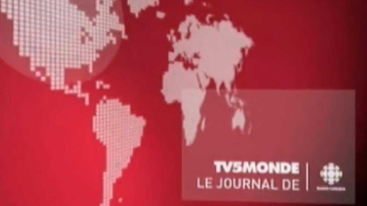 Sur TV5 Monde dès 07h00 : Journal Radio Canada