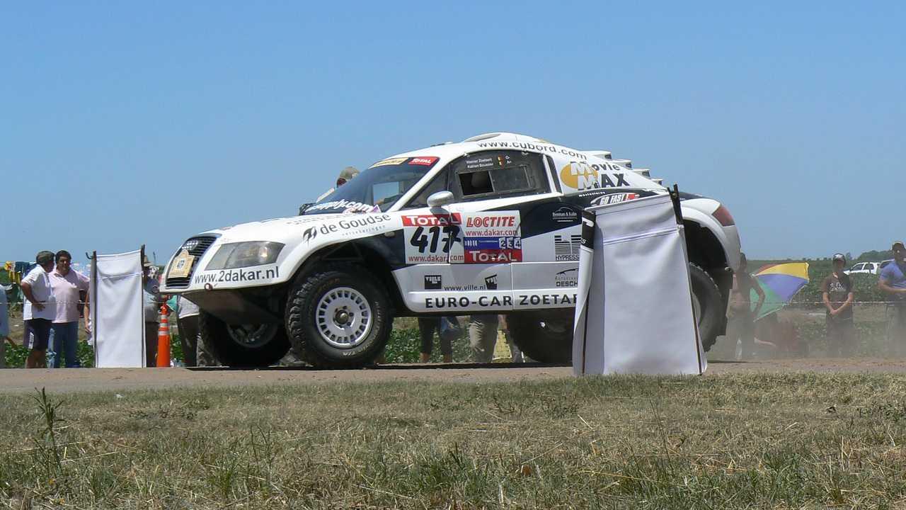Rallye Dakar (Yanbu - Jeddah (452 km))