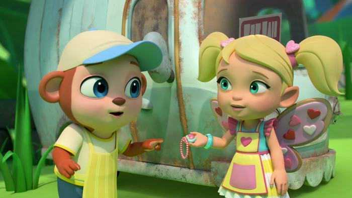 Sur Nickelodeon Junior dès 15h00 : Le café enchanté