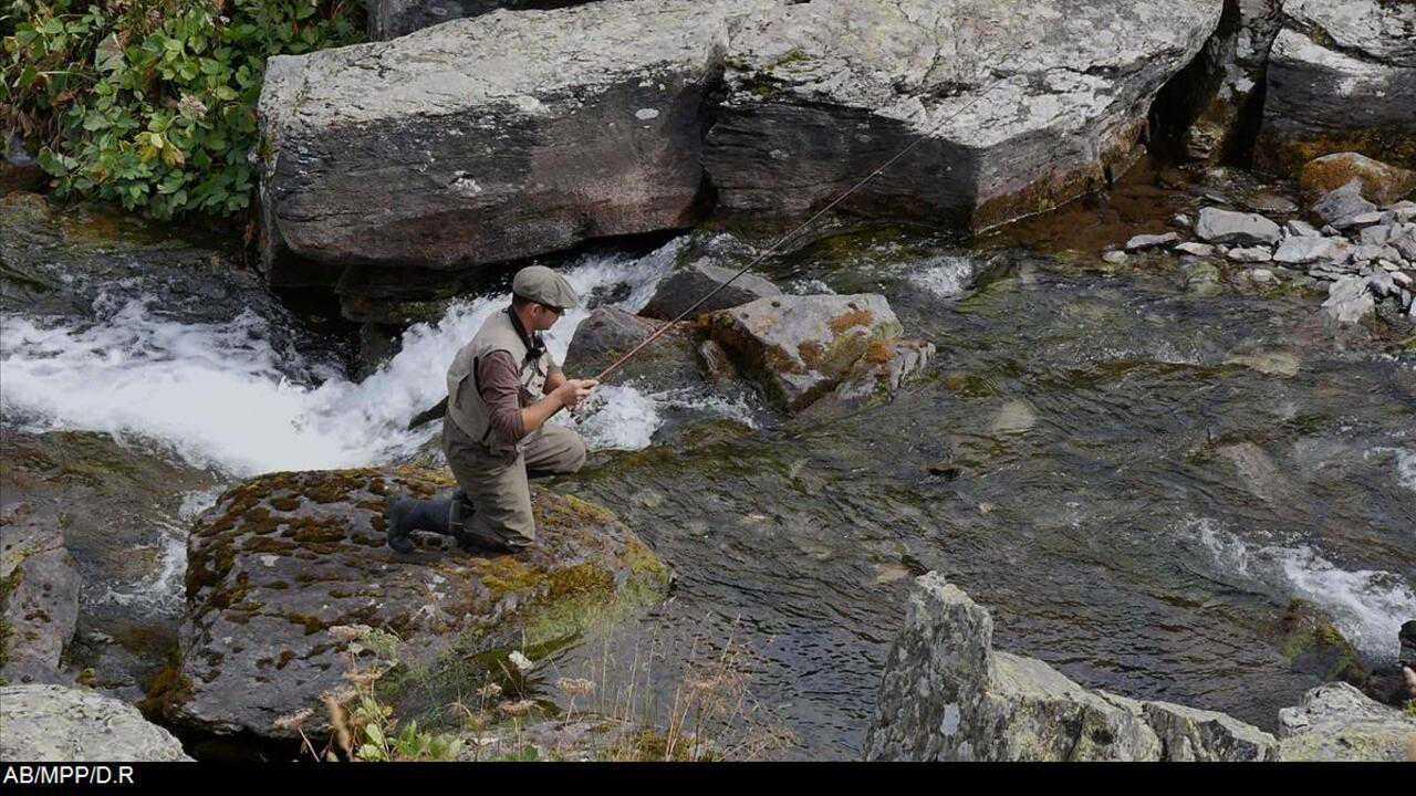 Sur Chasse et Peche dès 14h33 : Pêche au vaironmanié sur le ruisseau du Vallon du Lou
