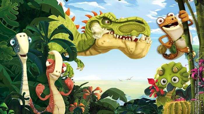 Sur Disney Channel Junior dès 23h00 : Gigantosaurus