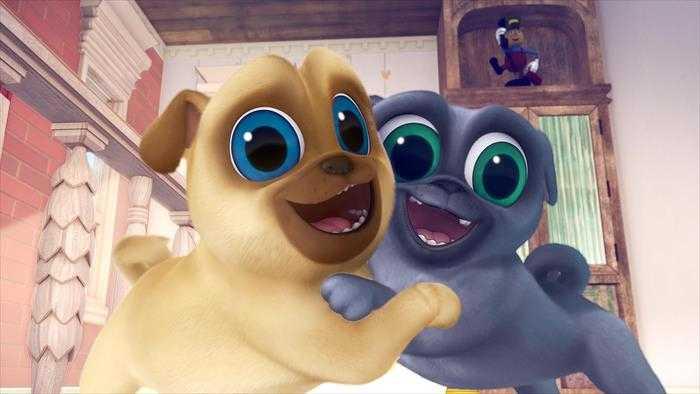 Sur Disney Channel Junior dès 22h10 : Le monde de Bingo et Rolly