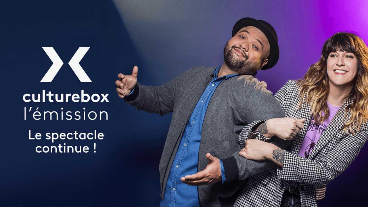 Sur Culturebox dès 02h37 : Culturebox, l'émission