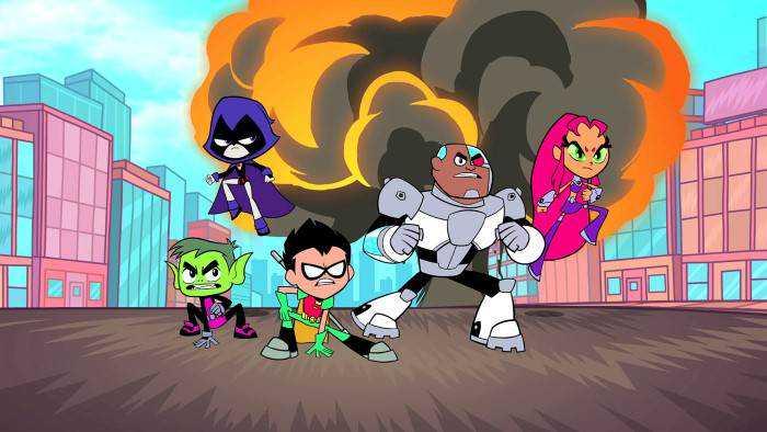 Sur Cartoon Network dès 22h25 : Teen Titans Go !