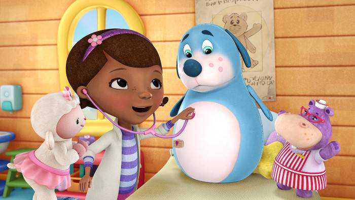 Sur Disney Channel Junior dès 09h20 : Docteur La Peluche