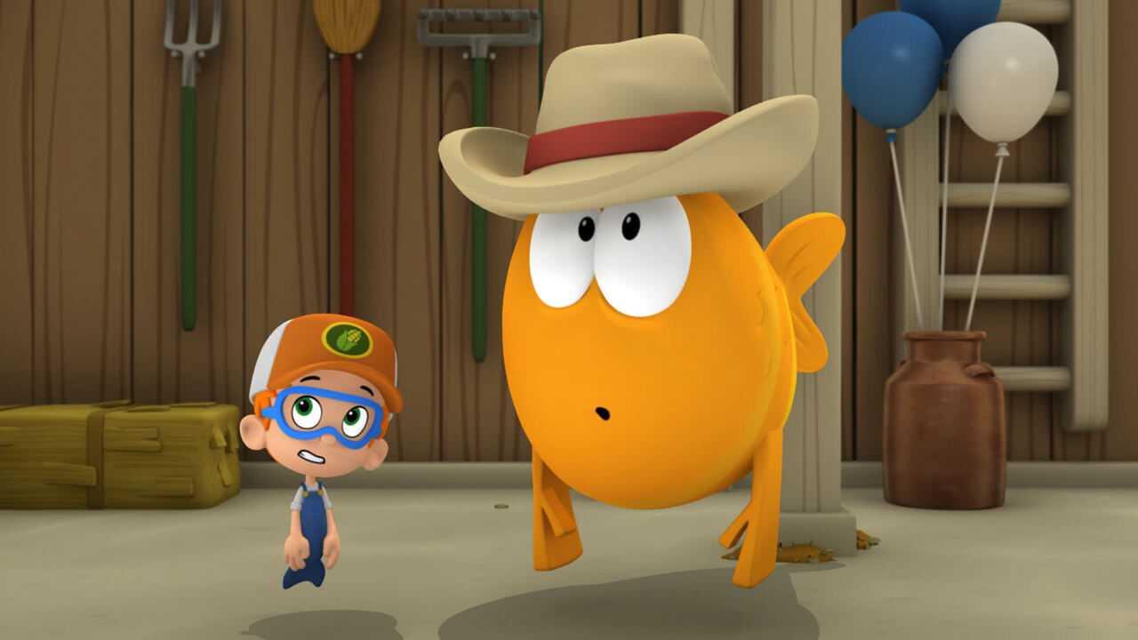 Sur Nickelodeon Junior dès 13h50 : Bubulle Guppies