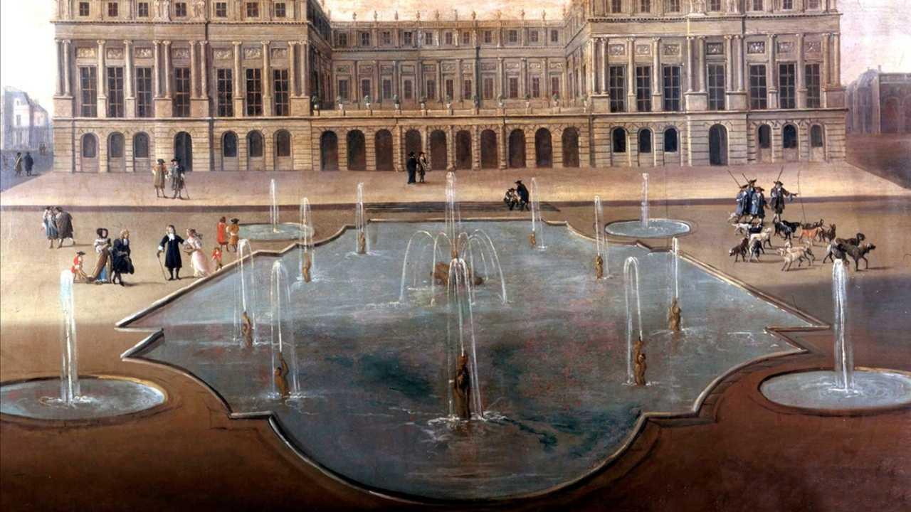 Versailles : le propre et le sale