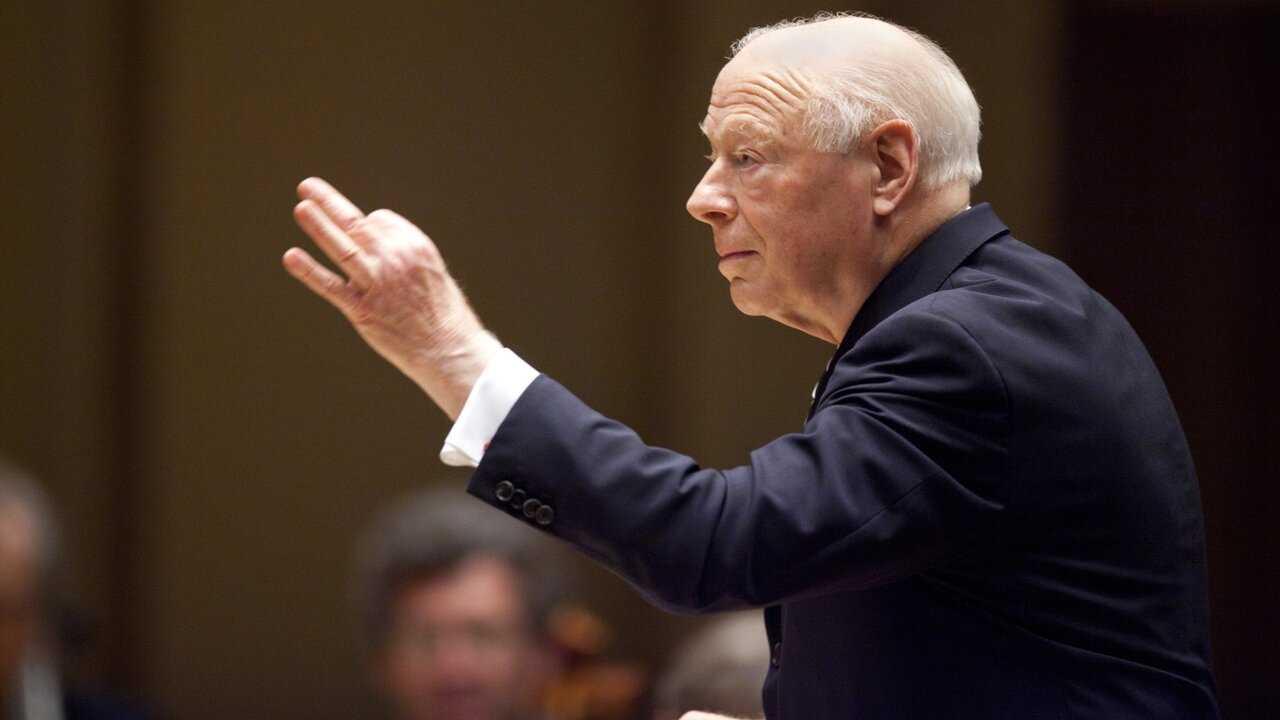 Sur Mezzo Live HD dès 09h30 : Bernard Haitink et le Royal Concertgebouw Orchestra