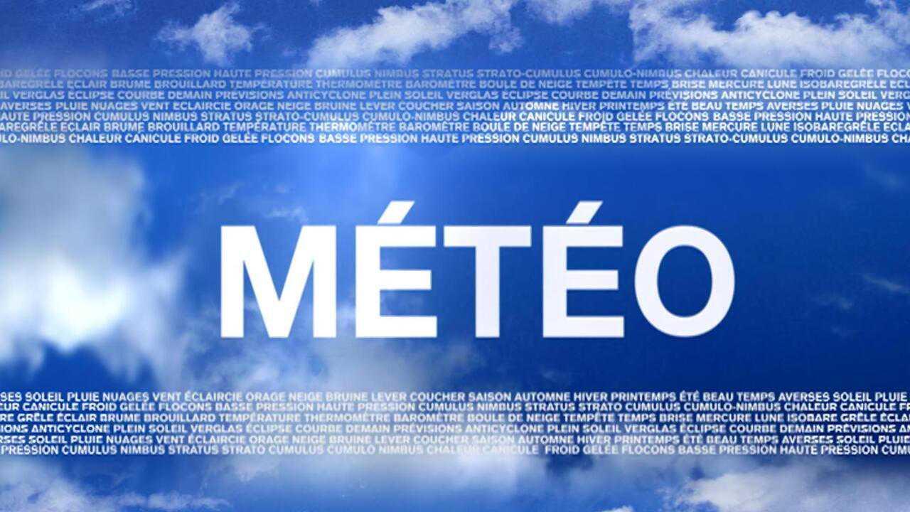 Sur W9 dès 12h45 : Météo