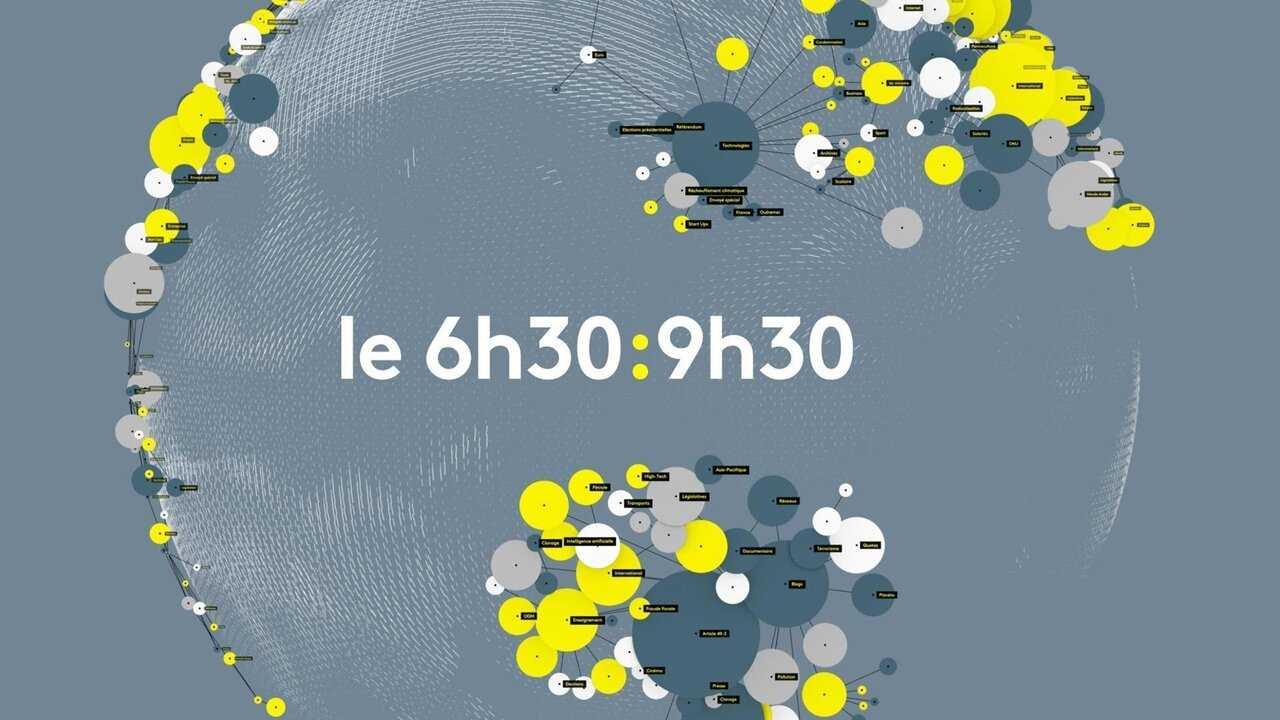 Sur Franceinfo dès 06h29 : 9h30
