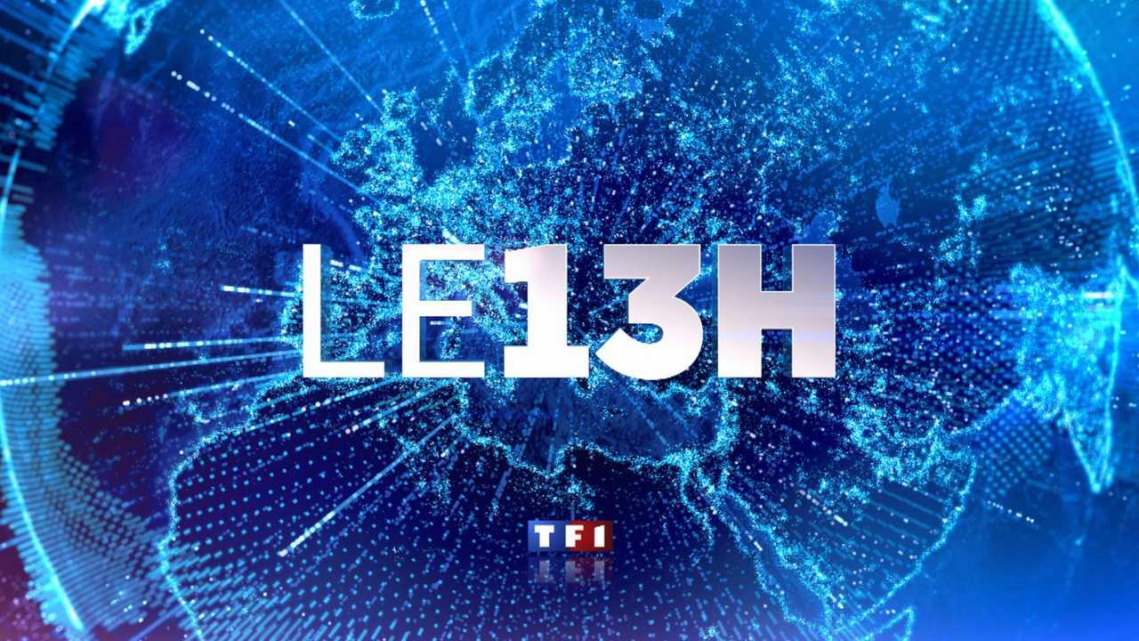 Sur TF1 dès 13h00 : Journal