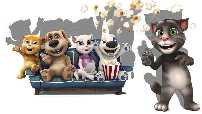 Sur TeleToon Plus 1 dès 22h52 : Talking Tom and Friends