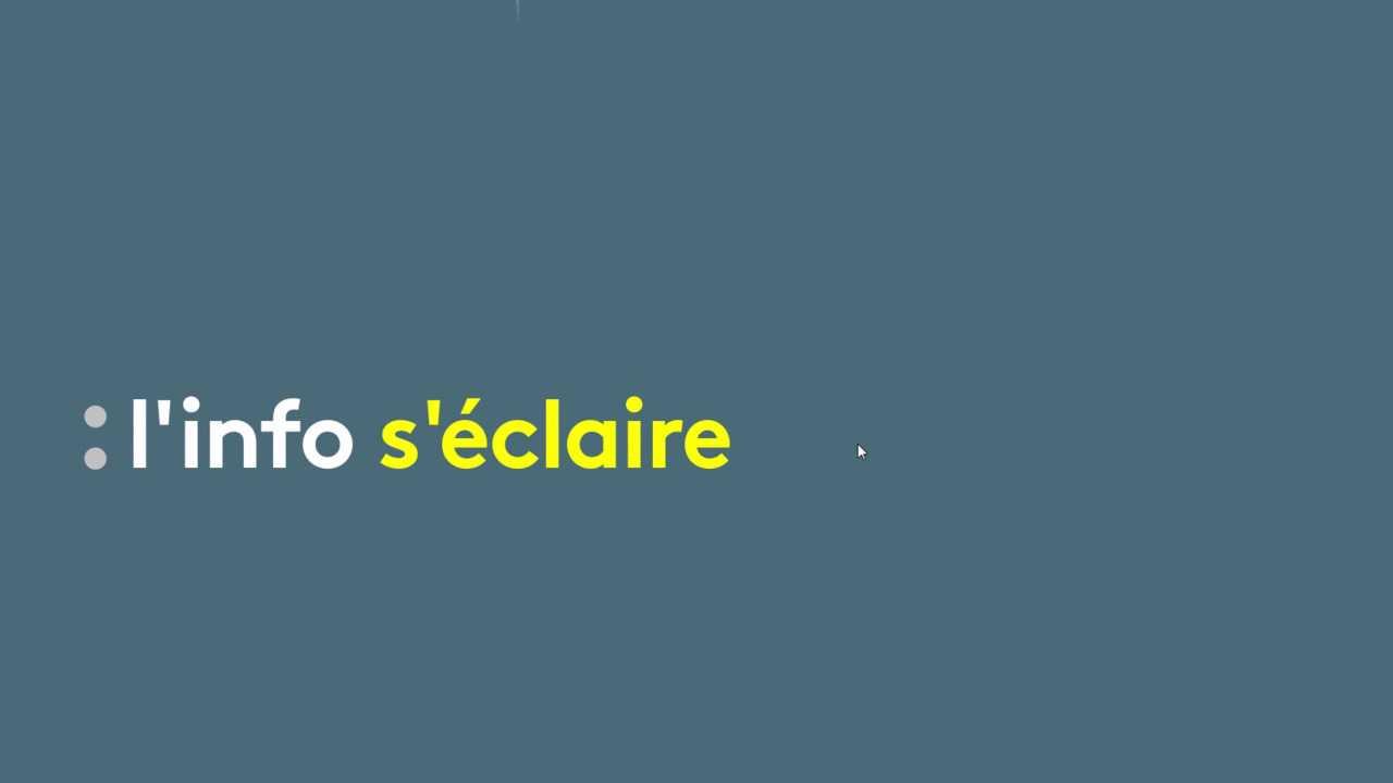 Sur Franceinfo dès 09h29 : L'info s'éclaire