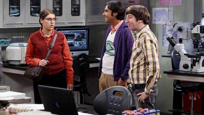 Sur NRJ 12 dès 18h10 : Big Bang Theory