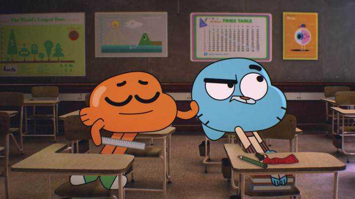Sur Cartoon Network dès 08h10 : Le monde incroyable de Gumball