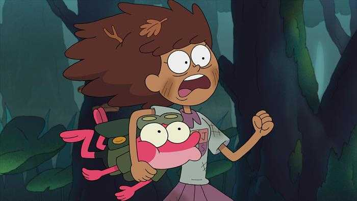 Sur Disney Channel dès 17h10 : Amphibia