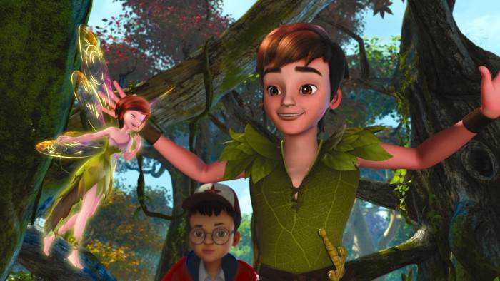 Sur TIJI dès 21h55 : Les nouvelles aventures de Peter Pan