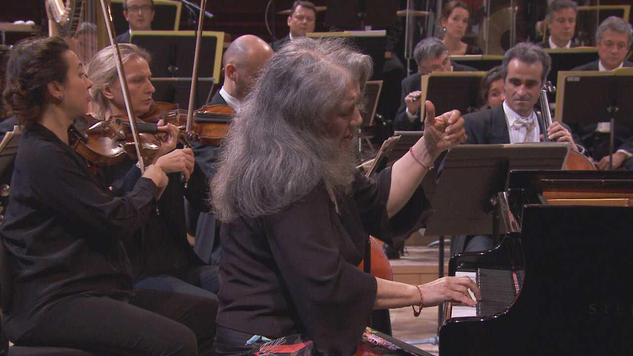 Sur Mezzo dès 10h08 : Martha Argerich joue le 1er Concerto pour piano de Chopin