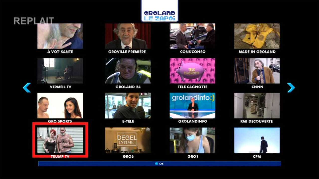 Sur Canal Plus Decale dès 12h42 : Groland le replait