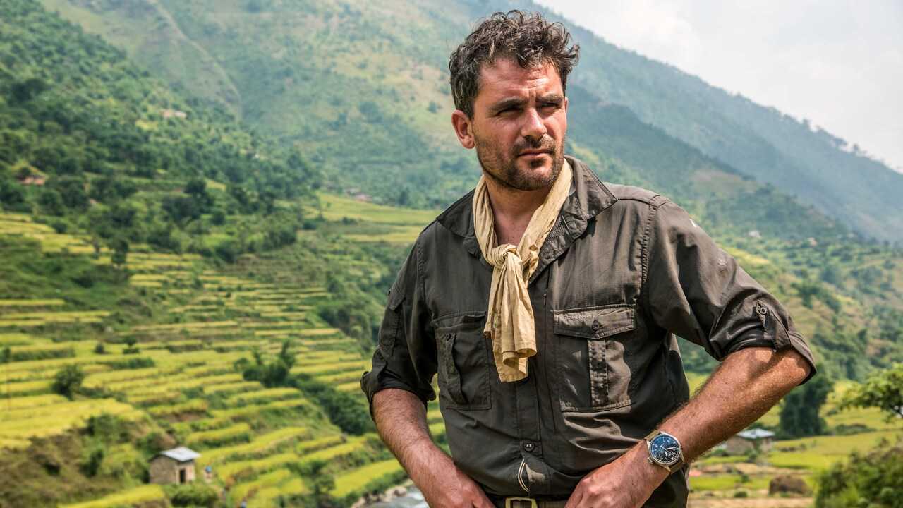 Le marcheur de l'Himalaya
