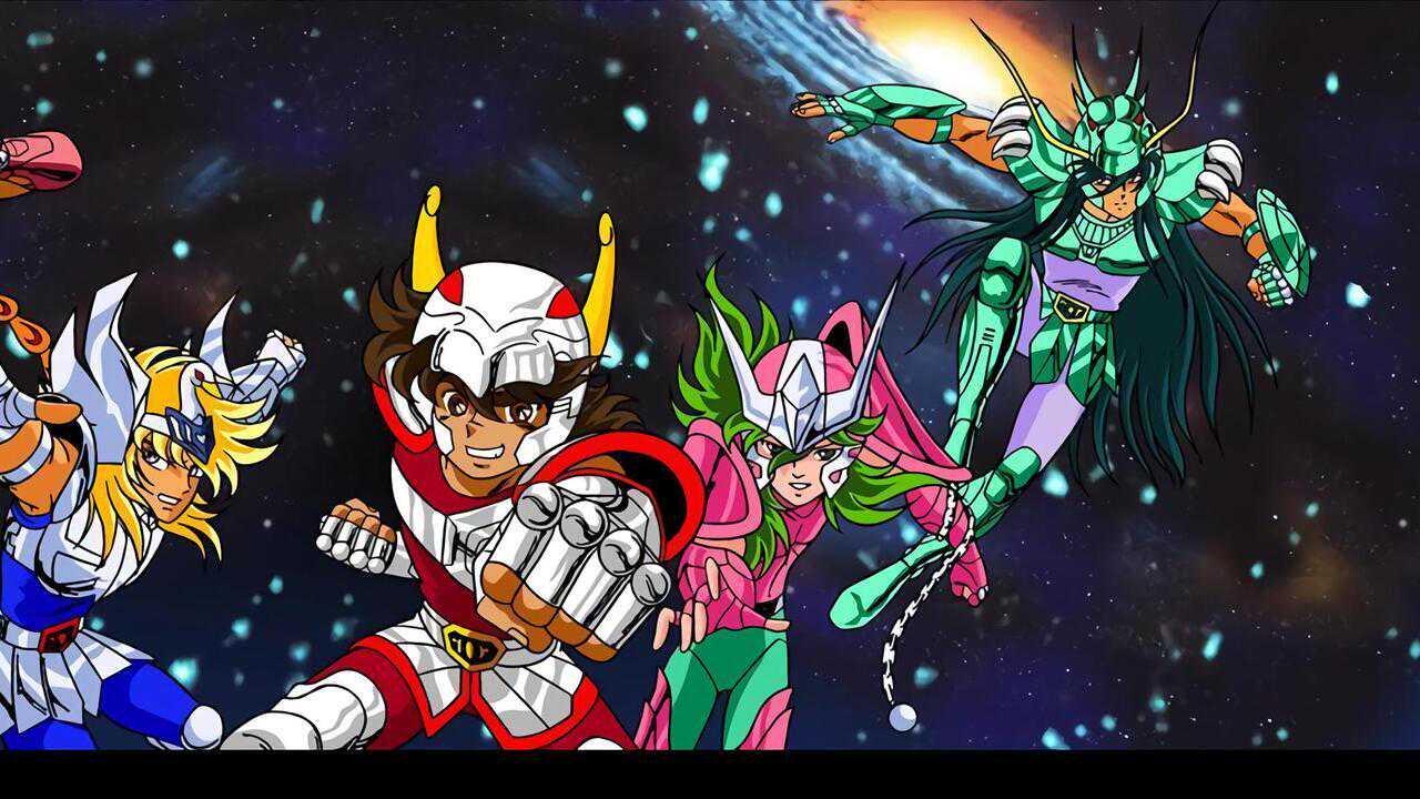 Sur Mangas dès 18h05 : Les chevaliers du zodiaque