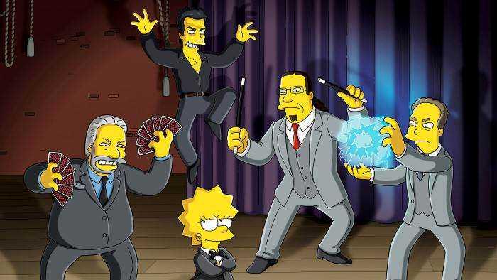 Sur serieclub dès 18h50 : Les Simpson