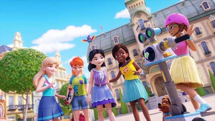 Sur Disney Channel dès 06h55 : Lego Friends : cinq filles en mission