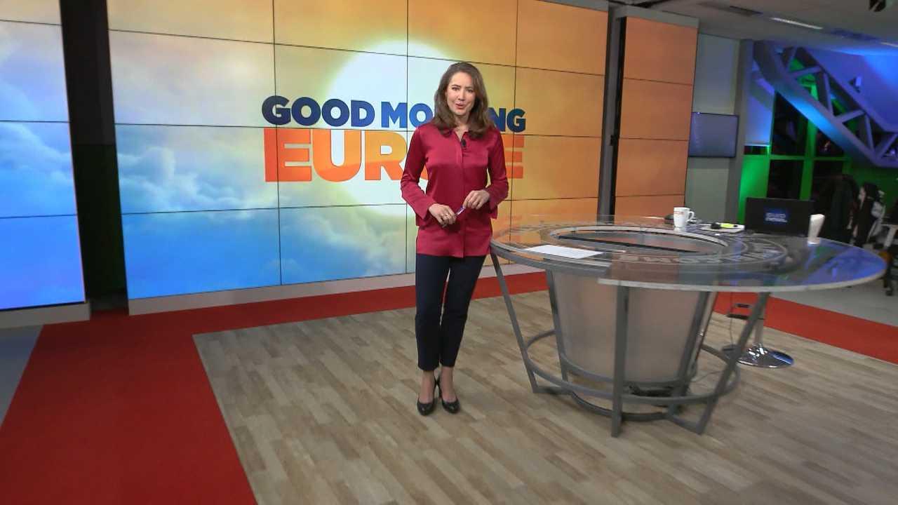 Sur Euronews dès 06h00 : Good Morning Europe