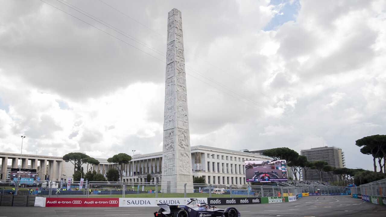 Sur Eurosport 2 dès 09h00 : Formule E : ePrix de Rome (ePrix de Rome)