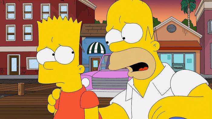 Sur serieclub dès 22h35 : Les Simpson