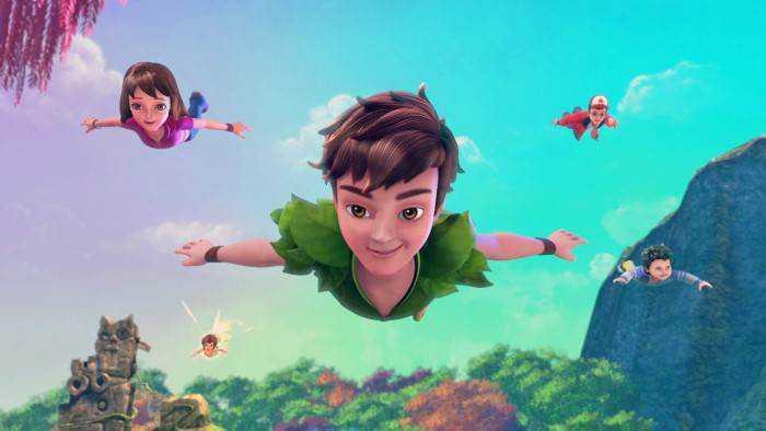 Sur TIJI dès 23h18 : Les nouvelles aventures de Peter Pan